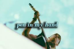 Armen Paul Pen in my hand
